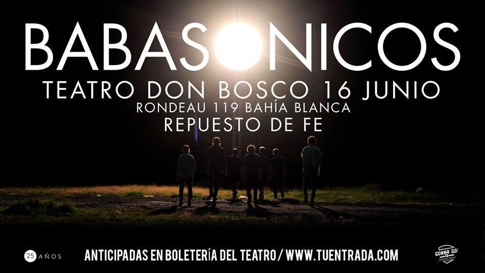 Por conflictos internos en la banda se mantendría en suspenso parte de la gira de BABASONICOS