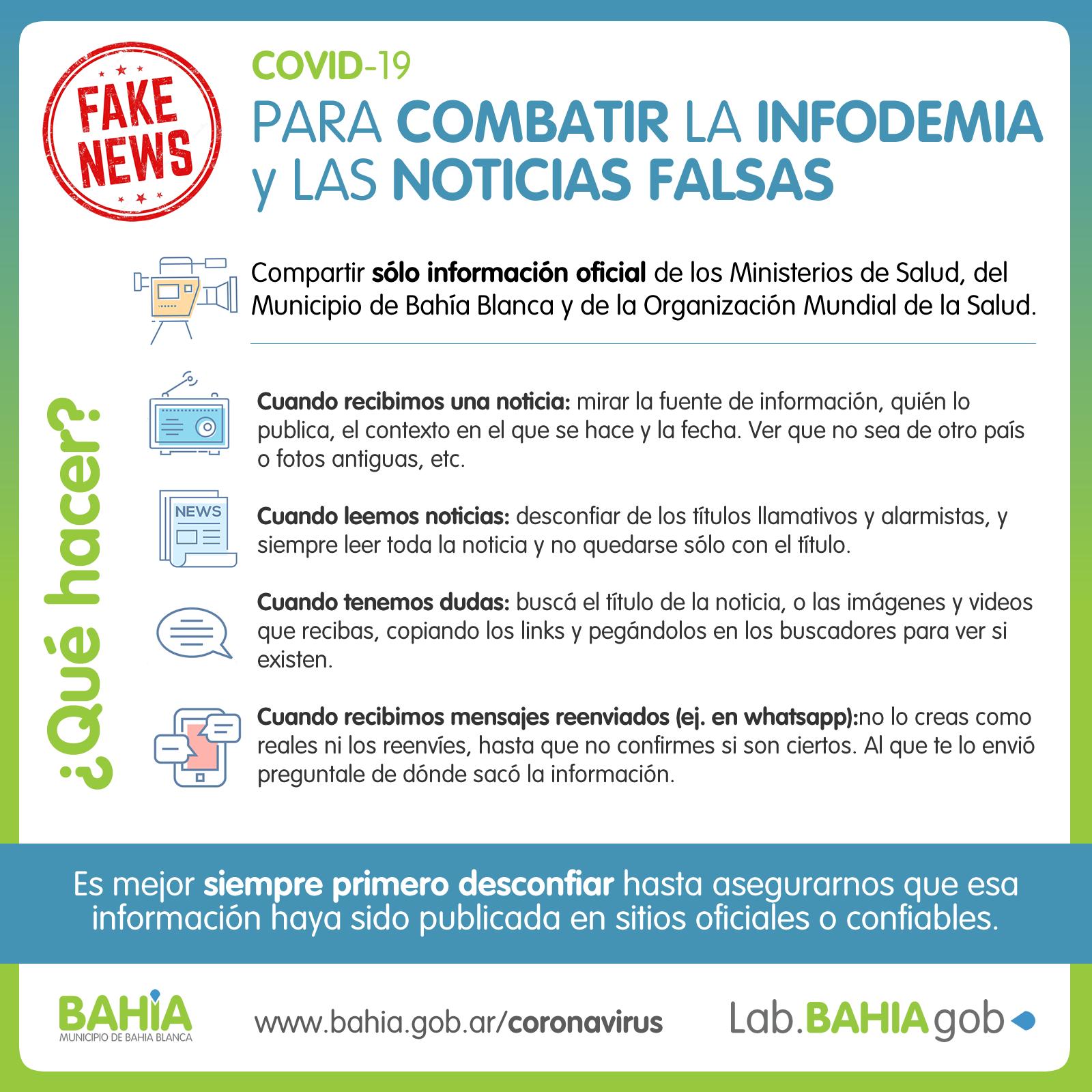 infodemia y noticias falsas A